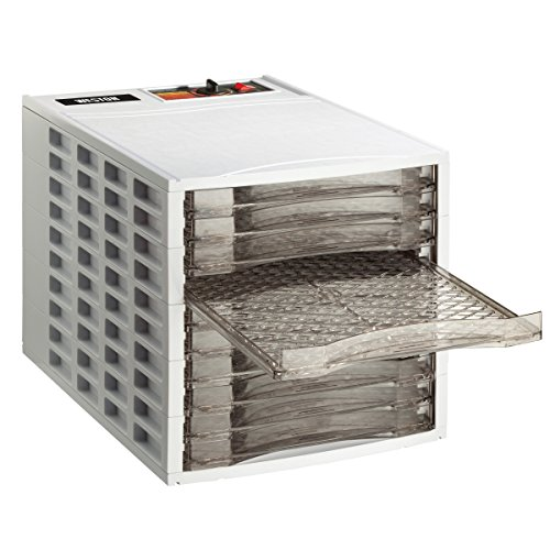 e Dehydrator, 10-Tray (75-0201-W), Ultra Quiet Fan ()