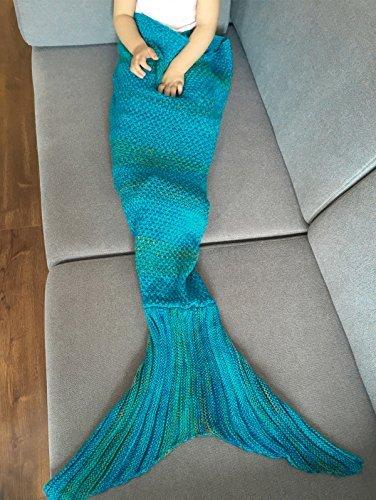 Amazoncom Feeshow Handcrafted Crochet Knitting Mermaid Tail Sofa