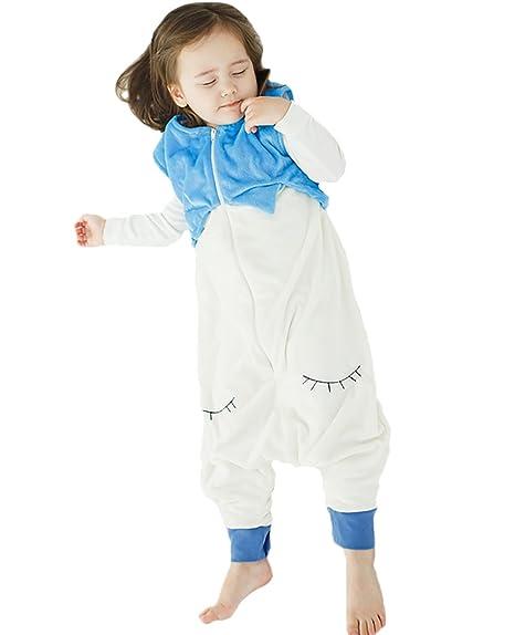 42eb894f30603 Happy Cherry - Bébé Filles Garçons Pyjamas Grenouillère - Combinaison sans  Manches - Taille 1-