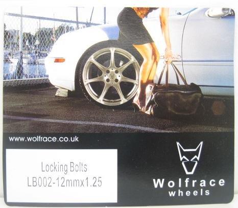 Boxer Peugeot 106 306 206 207 406 Locking Wheel Bolts 405 407 Partner 205 307