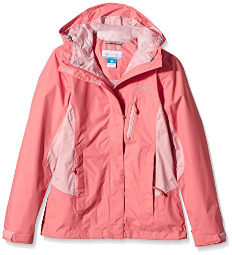 Rosewater Women's Adventure Pouring Columbia Coral Jacket Bloom n1qzwvYw