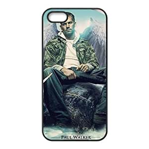 iPhone 5,5S Phone Case Black Diy Paul Walker WQ5RT7401445