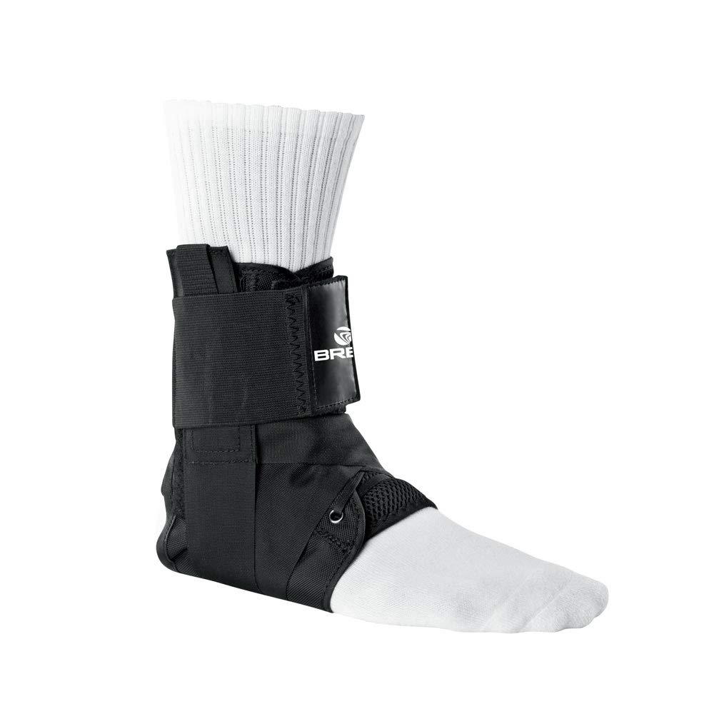 Breg Lace-Up Ankle Brace w/Stays (Small)