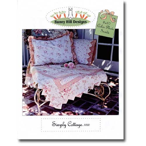 Simply Cottage Quilt Pattern (Designs Pattern Hill Bunny Quilt)