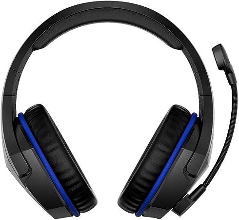 H- EarphoneProfesión Gaming Headset Auriculares Inalámbricos De Audio Deportivo con Almohadillas Cómodas, Auriculares Multiplataforma para PC, PS4, Xbox One, Diseño Ultraligero: Amazon.es: Hogar