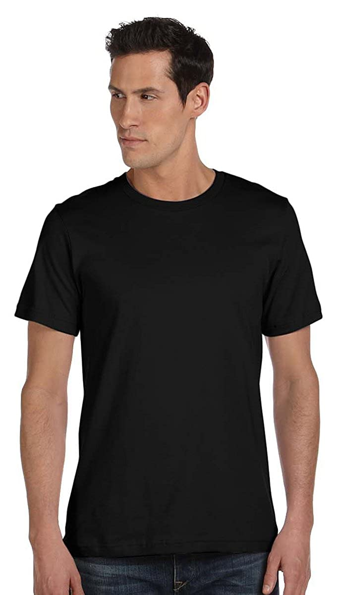 Bella Canvas Mens Jersey Made in USA Crewneck T-Shirt