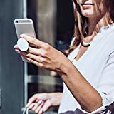 Expanding Grip and Stand, Pop Out Phone Grip Socket for Smartphone,Iphone and Tablets - Rose Gold
