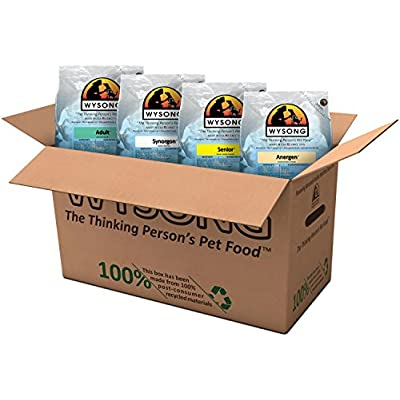 Wysong Variety Pack Dry Food, Four- 5 Pound Bags