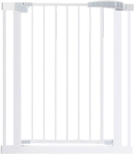 LNDDP Barreras para escaleras para Mascotas Barrera para Mascotas Barras para Puertas de Seguridad para bebés Cerradura Doble Cierre automático Sin punzonado: Amazon.es: Deportes y aire libre
