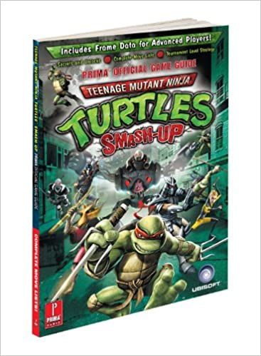Teenage Mutant Ninja Turtles Smash-up: Primas Official Game ...