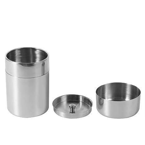 Amazon.com: Lata de té, latas de té de acero inoxidable ...