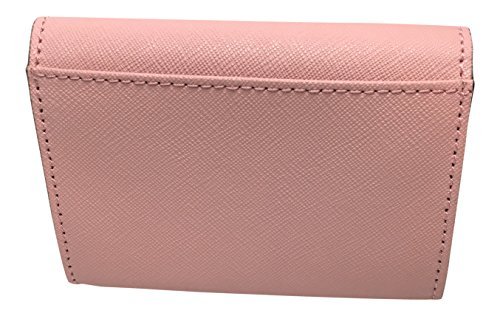Kate Spade New York Mikas Pond Christine Small Leather Wallet / Color: Pink Bonnet (656) by Kate Spade New York (Image #1)