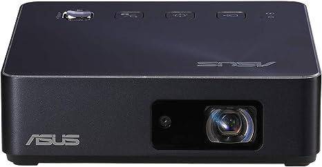 Opinión sobre ASUS ZenBeam S2 - Proyector LED Portátil 500 lúmenes (720p, Batería de 6000 mAh 3,5h de autonomia, Carga de dispositivos externos, Tiro corto, Ajuste Keystone horizontal y vertical, Autoenfoque, HDMI)