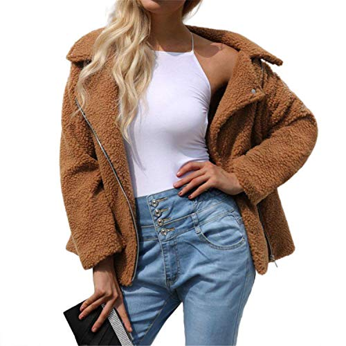 XIAOBAILONG Camel Wool Blazer 2019