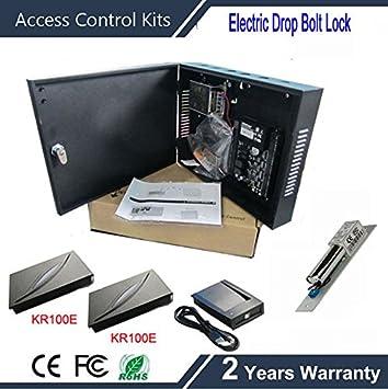 FidgetFidget - Caja de alimentación RFID tarjeta ZK C3-100 Panel de control de acceso con lector de tarjetas KR100: Amazon.es: Electrónica