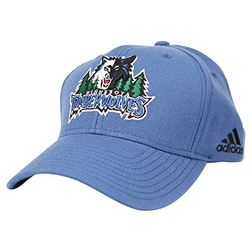 (NBA Classic Retro Logo Baseball Cap Hat (Minnesota Timberwolves (Blue)))