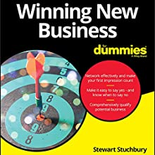 Winning New Business for Dummies Audiobook by Stewart Stuchbury Narrated by Mark Meadows