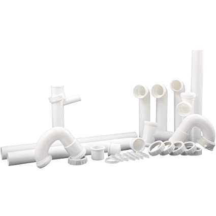 PlumbCraft Complete Kitchen Drain Repair Kit - Fits most sinks ...