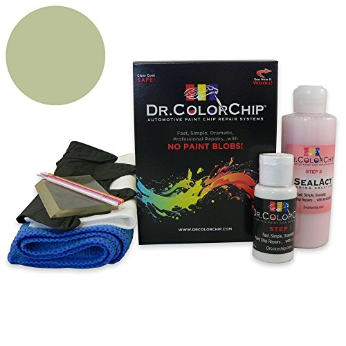 Dr. ColorChip Cadillac All Models Automobile Paint - Lanai Green Poly 42 (1971) - Squirt-n-Squeegee Kit