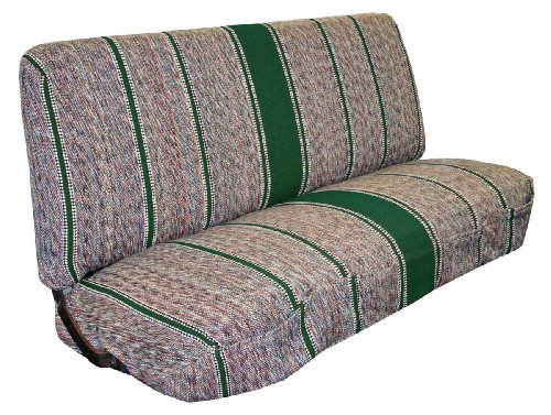 Full Size Truck Bench Seat Covers - Fits Chevrolet, Dodge, and Ford Trucks (Green) - Ford Green