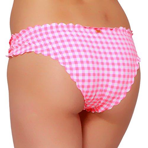 Phax Swimwear–hula Top Alto–Mujer Braga de baño, Panty Rose Pink