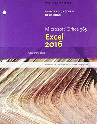 Bundle: New Perspectives Microsoft Office 365 & Excel 2016: Comprehensive, Loose-leaf Version + SAM 365 & 2016 A