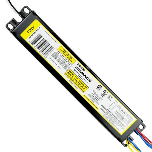 Advance Mark 10 Powerline REZ-2S32-SC - (2) Lamp Fluorescent Ballast - F32T8 - 120 Volt - Dimming - 1.05 Ballast Factor