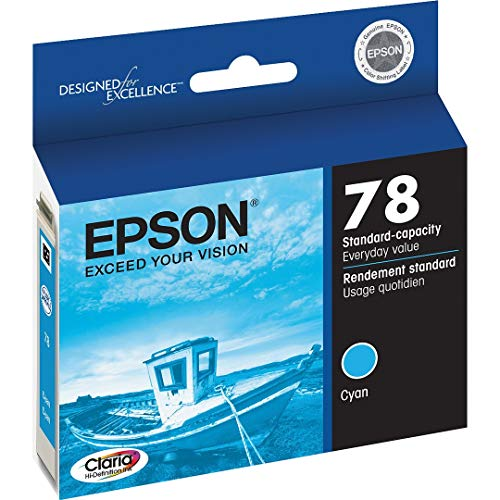 (Epson 78 - Cyan - Original - Ink Cartridge - For Artisan 50, Stylus Photo R260, R380, Rx580, Rx595