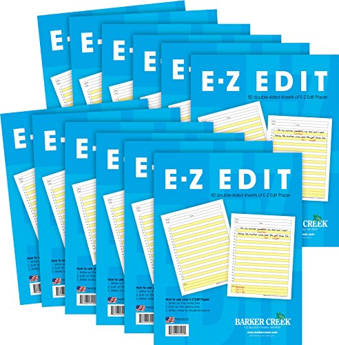 Barker Creek - Office Products E-Z Edit Paper, 12 Pack (BC-5502-12) by Barker Creek - Office Products (Image #1)
