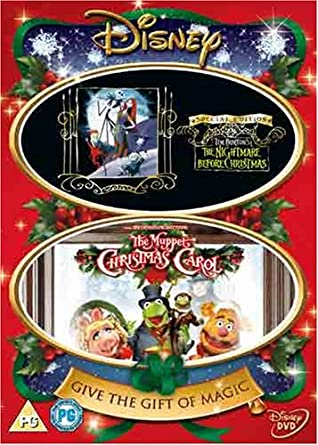 Tim Burton Christmas Carol.The Muppet Christmas Carol Nightmare Before Christmas Dvd