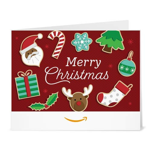 Christmas Goodies - Printable Gift Card