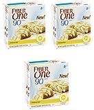 Fiber One 90 Calorie Bar, Lemon 5.34 Oz - 3 Pack