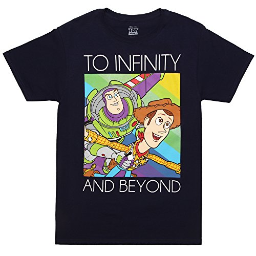 Toy Story to Infinity and Beyond Adult T-Shirt - Navy (XX-Large) ()