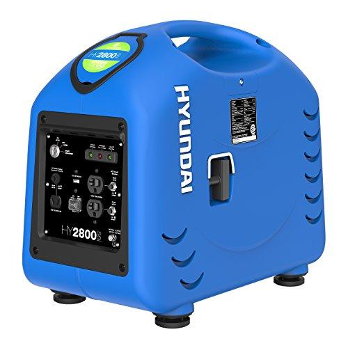 hyundai hy2800si 2600 watt portable inverter generator carb portable generators for home use. Black Bedroom Furniture Sets. Home Design Ideas