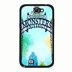 Hot Anime Monster University Phone Case Cover For Samsung Galaxy Note 2 N7100 Monster With Excellent Style