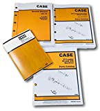 Case 580 CK Tractor Loader Backhoe Service, Parts and Operators Manual Set Serial Numbers up to 8685801 1966 through 1971