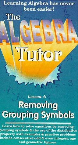 Amazon Removing Grouping Symbols Vhs Algebra Tutor Movies Tv