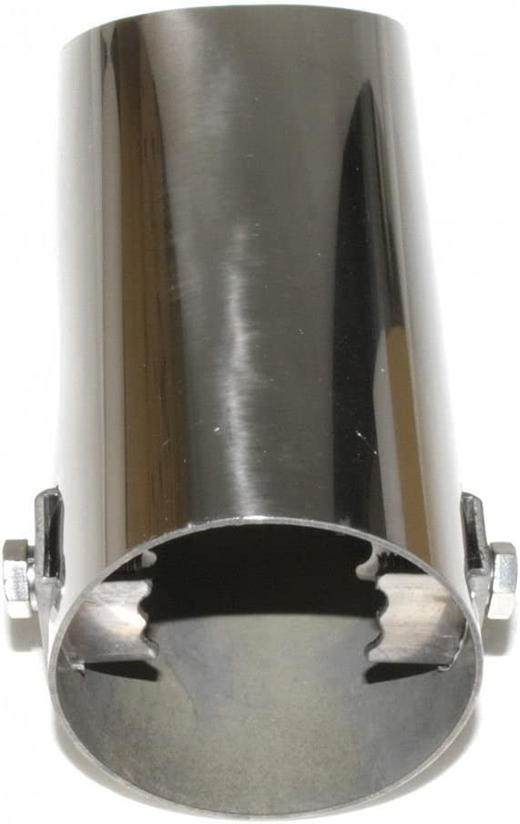 Autohobby 0024 Auspuffblende Auspuff Universell Schalldampf Endrohr Endrohrblenden Blende Sport Edelstahl bis 52mm /Ø Chrom