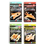 SUCK UK 3D Spaceship Cookie Cutters, Multicolored, 4-Pack