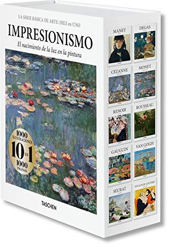 La serie Básica De Arte: Diez en uno. Impresionismo por Taschen