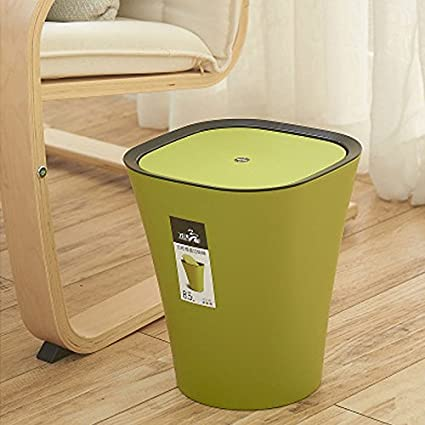 Generic Creative Mini Desktop Trash Can Waste Bin Table Dustbin Waste  Container Rubbish Bin Desk Organizer