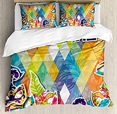 Queen Quilt coverJoyful Celebration Duvet Cover SetGirls Boys Children's Quilt Cover Bedding Set