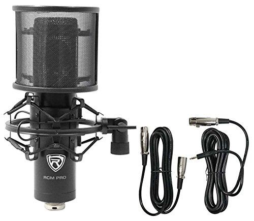 Rockville RCM PRO Studio/Recording Condenser Microphone w Samsung Capacitors