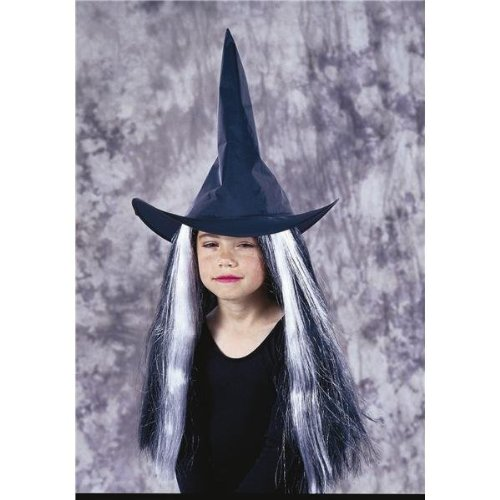 RG Costumes Child Witch Hat with (Child Witch Hat With Wig)