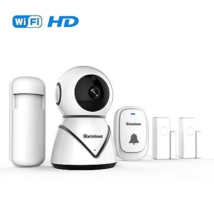 Elinksmart Smart Home Starter Set con WiFi Vigilabebés, 2 ...
