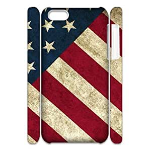 American Flag DIY 3D Cover Case for iphone 6 plus,personalized phone case ygtg-773496