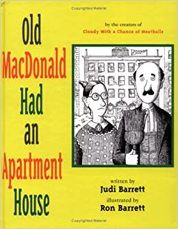 Old Macdonald Had An Apartment House Judi Barrett Ron 9780689817571 Amazon Books