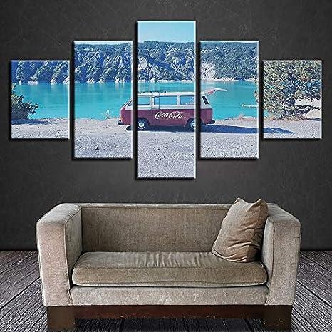 mmwin HD Impreso Moderno Lienzo Sala de Estar Imágenes 5 ...
