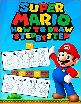 Draw Mario Characters Step Step