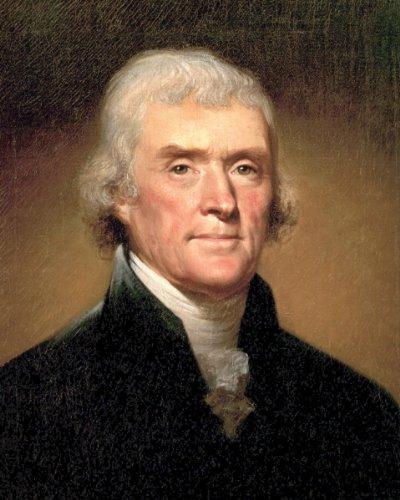 (New 8x10 Photo: Thomas Jefferson, 3rd President of the United States)